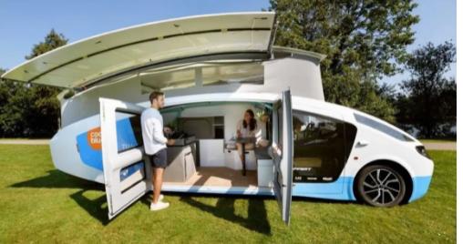 Stella Vita是世界上第一辆全太阳能供电的露营车